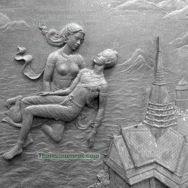 รูปปั้นนุนต่ำ ประติมากรรมนูนต่ำ รูปปั้นสวยๆ รูปปั้นตกแต่งอาคาร